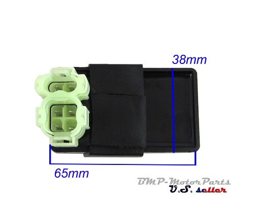 6 Pin Chinese AC CDI Box for GY6 50cc 110cc 125cc 150cc ATV Moped GO KART  Scooter